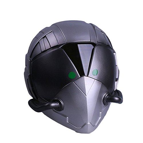 o Returns Helm Maske Cos Villain Geier Kopfbedeckungen Film TV Halloween Requisiten,Silver-OneSize (Geier Maske)