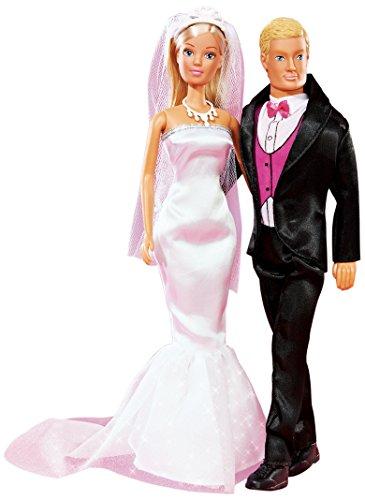 Simba 105732346 - Steffi Love Puppe mit Kevin Wedding Day
