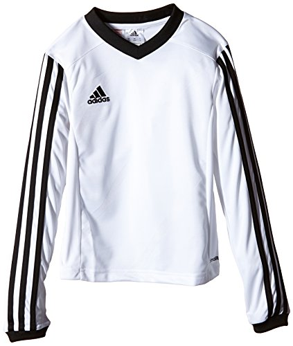 adidas Kinder Trikot Tabela14 1/1 Arm, White/Black, 140, F50428