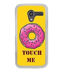 Fuson Touch Me Designer Back Case Cover for Motorola Moto X :: Motorola Moto X (1st Gen) XT1052 XT1058 XT1053 XT1056 XT1060 XT1055 (Lovable Heart Design)