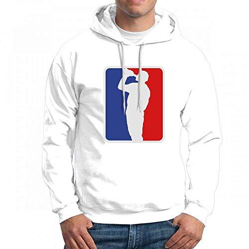 ruziniujidiangongsi Custom National Drinking League Men's Pullover Logo Hoodie Custom Sweater