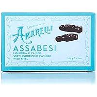 Amarelli Regaliz - Assabesi - Caramelos De Regaliz Con Anís - 100 gr