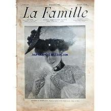 FAMILLE (LA) [No 1302] du 18/09/1904 - PREMIERE AU RENDEZ-VOUS D'APRES LE TABLEAU DE ROBERT SALLES -AU PAYS BASQUE / LE JEU DE PELOTE