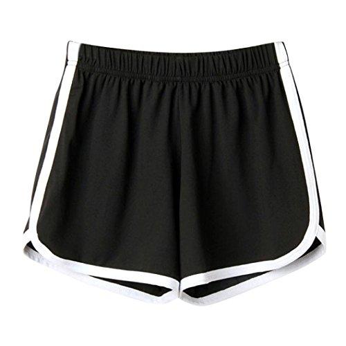 ESAILQ Shorts Women Lady Summer Sport Beach Short Pants Fashion Skinny Workout