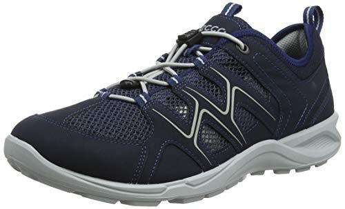 ECCO Herren TERRACRUISELTM Sneaker, Blau Marine/Concrete 51406, 42 EU -