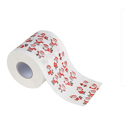 Carremark Weihnachtsmann-Frohe Weihnacht-Toiletten-Rollenpapier-Tabellen-Wohnzimmer-Badezimmer-Gewebe
