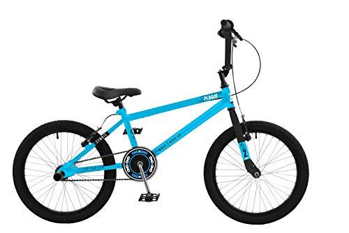 Zombie Plague 18 Inch Unisex Junior BMX Bike Blue Ages 7 Years+