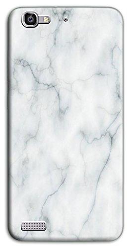 Mixroom - Cover Custodia Case In TPU Silicone Morbida Per Huawei Ascend P8 Lite Smart M3530 Fantasia Marmo Liscio