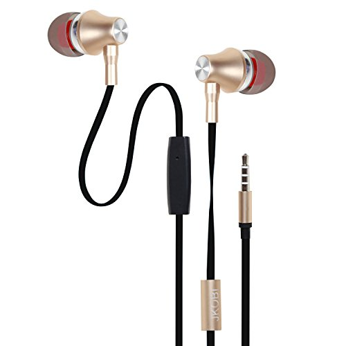Jkobi ProHD Bass Metal Plugs In-Ear Earphone Headset Compatible For Micromax Joy F145 -Soft Gold  available at amazon for Rs.340