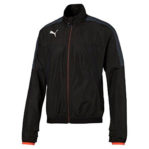 PUMA Herren Jacke IT evoTRG VENT THERMO-R Jacket, Black-Red Blast, - Fleecejacke Puma Herren