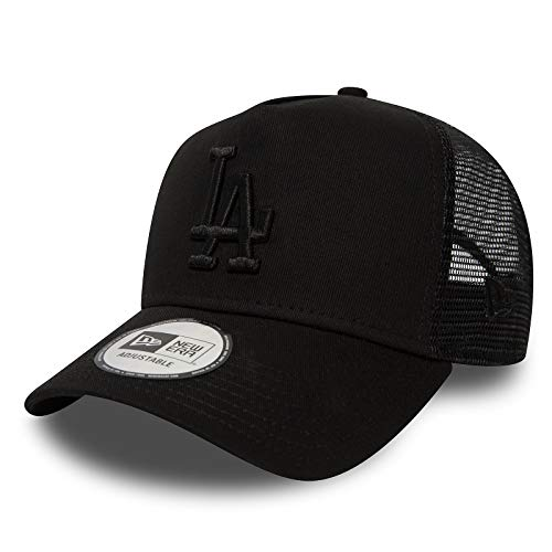 New Era Trucker Mesh Cap LA Black/Black