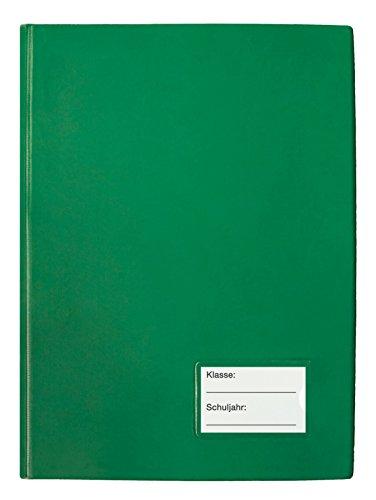 TimeTEX Klassenbuch mit PU-Einband - Format: A4-Plus - Grün - 10564