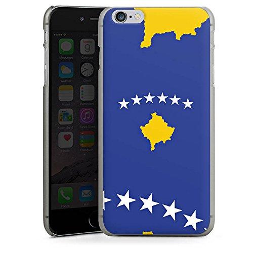 Apple iPhone 4 Housse Étui Silicone Coque Protection Kosovo Drapeau Drapeau CasDur anthracite clair