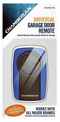 Clicker Blue Universal Garage Door Remote by Chamberlain Universal-garage Door Remote