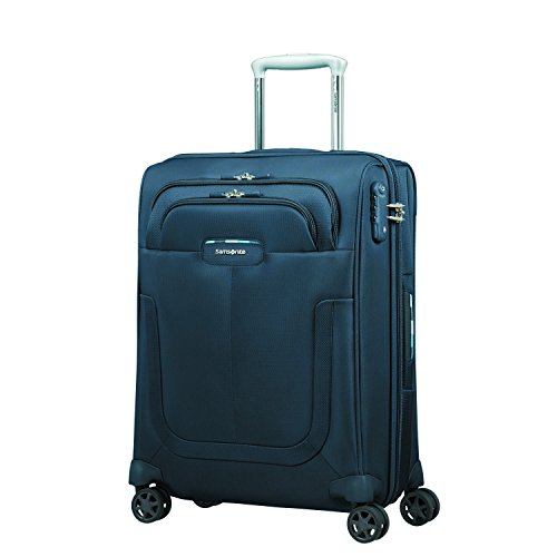 Samsonite Duosphere - Spinner 55/20 Expandable Koffer, 55 cm, 40.5 L, Dark Blue