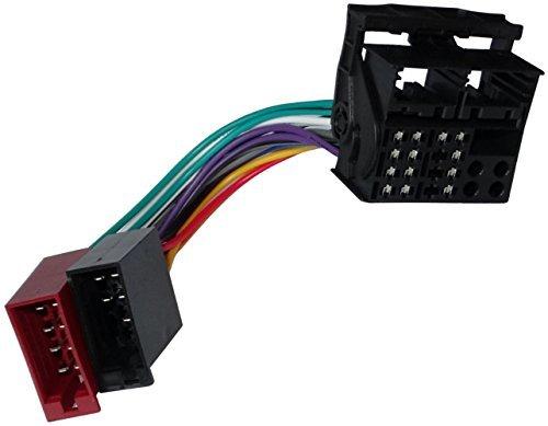 Aerzetix - ISO-Konverter - Adapter - Kabel Radioadapter Radio Kabel Stecker ISO-Kabel Verbindungskabel -