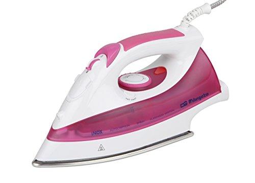 Orbegozo SV 2625 - Plancha de vapor, 2600 W, color rosa