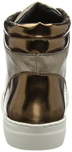 Joop! - Daphne High Sneaker I Soft Leather, Scarpe da ginnastica Donna Marrone (Braun (104))