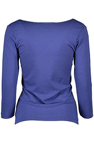GANT 1501.409208 T-Shirt mit 3/4 Ärmeln Damen BLU 476