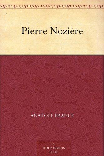 Couverture du livre Pierre Nozière