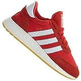 adidas Iniki Runner, Scarpe da Fitness Uomo, Rosso (Rojo/Ftwbla/Gum3 000), 42 EU