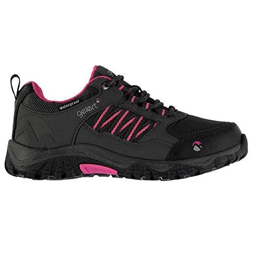 Gelert Horizon Kinder Wasserdicht Wanderschuhe Outdoor Trekking Schuhe Charcoal/Pink