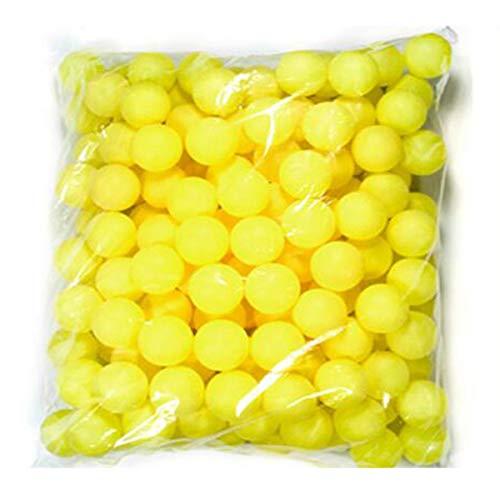sbälle, Lotterie Tischtennis Farbe No Word 150 Anzahl Bälle Farbe Tischtennis Blank, kann die Anzahl der farbigen Bälle ausfüllen (Color : Yellow) ()