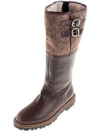 Suchergebnis auf Amazon.de für  Lammfell Stiefel Damen - Schnalle ... 2fd9eaec6d