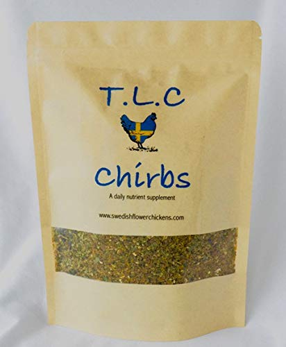 CHIRBS Natural Chicken Food/Mixed Alternative Herbs Supplement/ADDITIVE TO YOUR POULTRY FEEDS