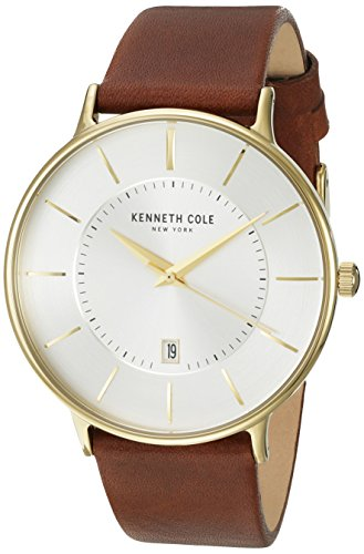 kenneth-cole-new-york-mens-classic-quartz-stainless-steel-and-leather-dress-watch-colorbrown-model-k