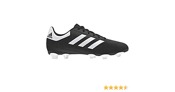 bac76c0ae3ca ADIDAS Kids Goletto VI Firm Ground Football Shoes (CORE Black/FTWR  White/Solar RED) (Model AQ4285): Buy Online at Low Prices in India -  Amazon.in