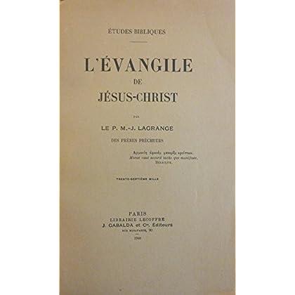 L'Evangile de Jésus-Christ