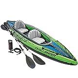 Intex 68306NP - Kayak hinchable Challenger K2 con 2 remos,...