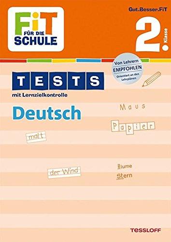 Preisvergleich Produktbild FiT FÜR DIE SCHULE: Tests Deutsch 2. Klasse