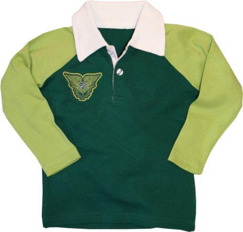 Zunblock Kinder UV-Schutzkleidung Leisure Rugby Long Sleeve, green/spring, 134