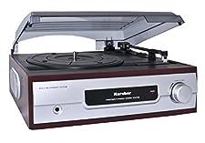 Karcher KA8050 Plattenspieler silber