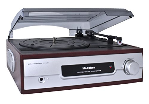Karcher-Industrial-Products-KA-8050-Tocadiscos-para-equipo-de-audio-plateado