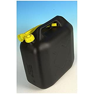 All Ride Jerry can 20Ltr Black Plastic