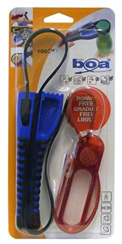 BOA Value Pack Gurtschlüssel zum Öffnen, Greifen, Lösen etc inkl. Baby BOA, mini Gurtschlüssel Deckelöffner