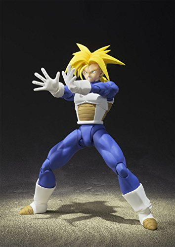 TAMASHII NATIONS Bandai Super Saiyan Trunks (Cell Saga Version) Dragon Ball Z Action Figure 4