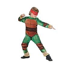 Rubie's Official Child's Teenage Mutant Ninja Turtle Classic Costume - Medium 5 -6 Years
