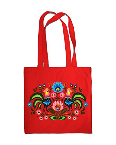 shopping-bag-eco-cotton-vintage-country-folk-rooster-tote-beach-shoulder-handbag-red