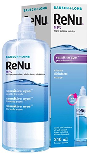 Bausch & lomb renu mps multi-purpose contact lens solution - 240 ml