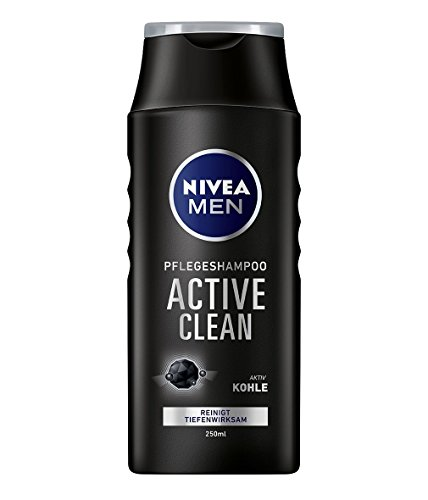Nivea Men Pflegeshampoo Active Clean, 4er Pack (4 x 250 ml)