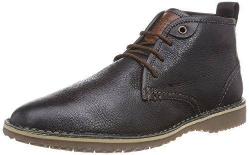 Geox U ZAL B, Herren Chukka Boots, Schwarz (BLACKC9999), 44 EU (10 Herren UK)