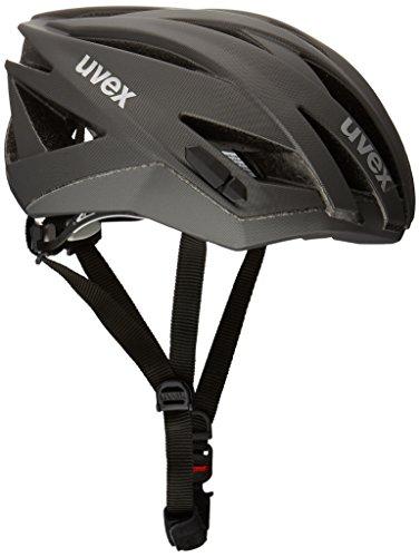 Uvex Ultrasonic Race - Casco de ciclismo BLACK MAT Talla:52-56cm