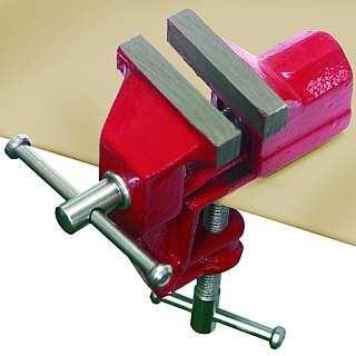 Mini-Schraubstock McDrill aus Metall, Klembefestigung,