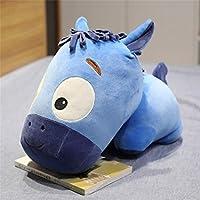 MYMAOR Creative Cute Horse Plush Toy Stuffed Animal Big Head Horse Toy Plush Pillow Cushion Toy Gift