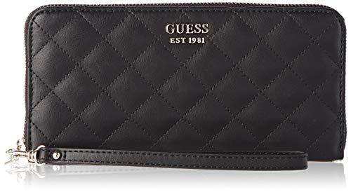 Guess miriam, portafoglio donna, nero (black), 2x10x21 cm (w x h x l)