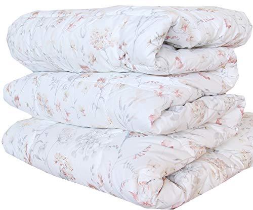 Trapunta piumone invernale zucchi easy chic letto singolo 1 una piazza cm 170 x 260 double face linum col. 6